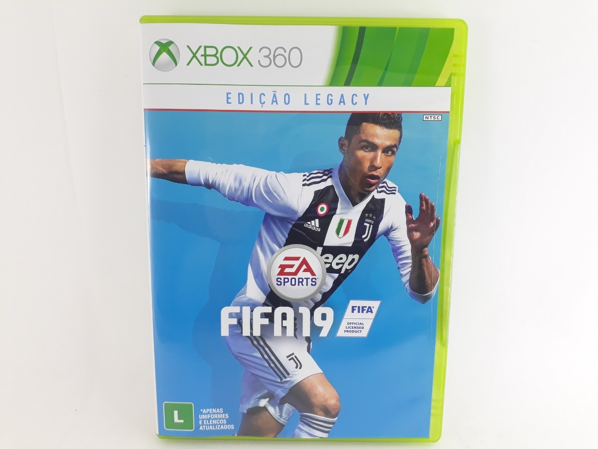 ddf5919a44 Fifa 19 Xbox 360 Jogo Mídia Física Original Dublado Pt Br - R  249 ...