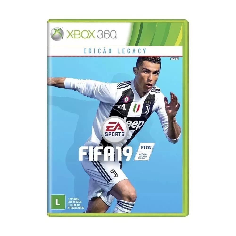 cb905480db Fifa 19 Xbox 360 Mídia Física Novo Lacrado Portugues Br - R  219