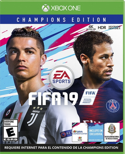 fifa 19 xbox one champion edition físico nuevo surfnet store