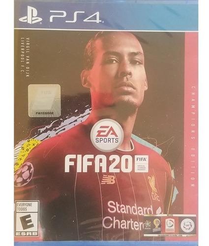 fifa 20 champions edition ps4 español delivery stock ya