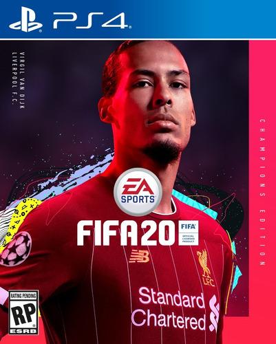fifa 20 champions edition ps4 fisico ya en stock env gratis