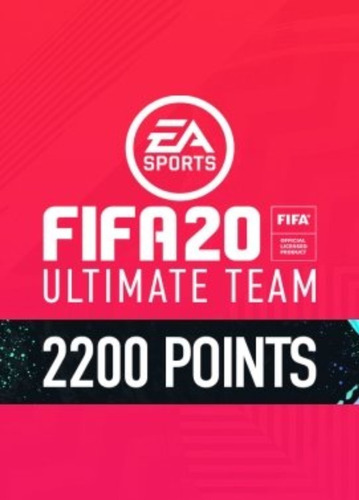 fifa 20 fut points 2200 pc digital