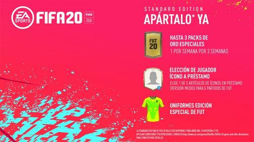 fifa 20 ps4 físico blu-ray nuevo sellado español latino full