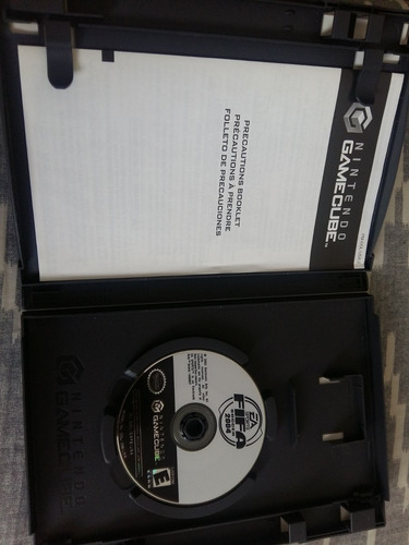 fifa 2004 para gamecube + manual original