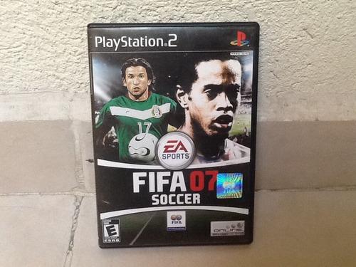 fifa 2007 playstation 2 ps2