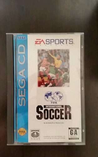 fifa international soccer (sega cd, 1994) completo
