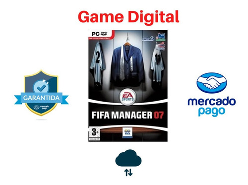 fifa manager 07  game digital pc