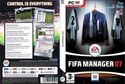fifa manager 07 (pc dvd) de ea sports, \ el control es todo\