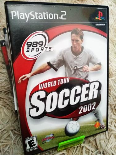 fifa pro world tour soccer 2002 original ps2 completo americ