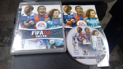 fifa soccer 08 completo play station 3