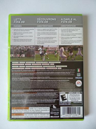 fifa soccer 09 xbox 360