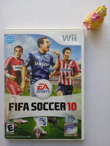fifa soccer 10 nintendo wii garantizado