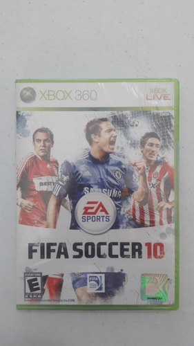fifa soccer 10 para xbox 360
