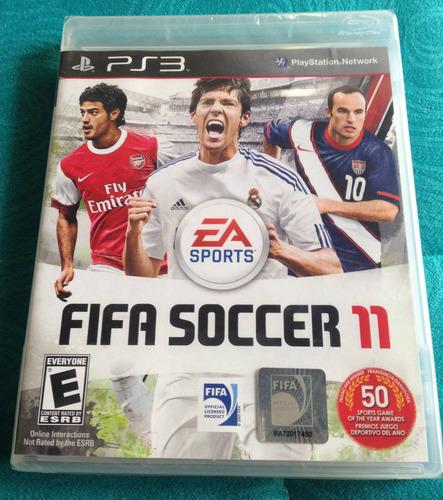 fifa soccer 11* español - fisico / playstation 3 ps3