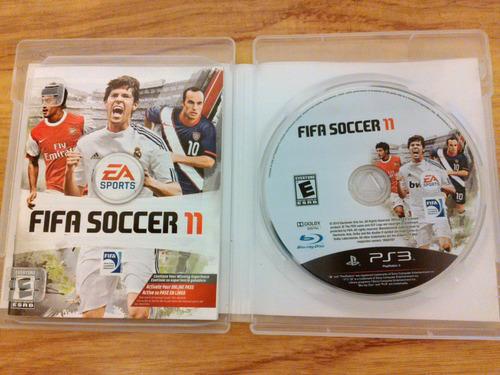 fifa soccer 11 narrado en español ps3 original como nuevo