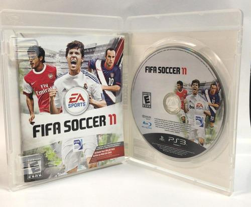 fifa soccer 11 - playstation 3 (físico - usado)