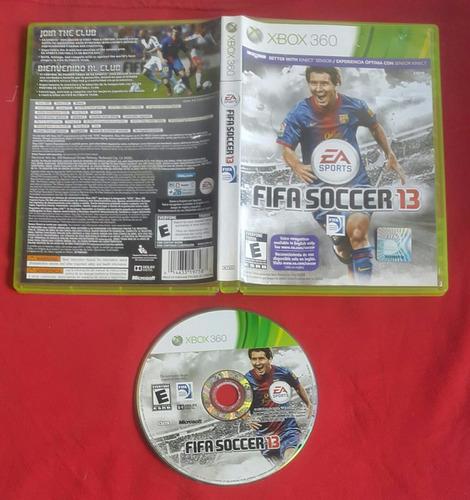 fifa soccer 13 - futbol * fisico / xbox 360 live - kinect