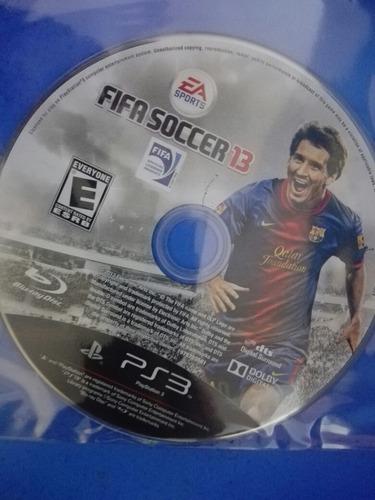 fifa soccer 13 playstation 3 ps3 disco solo semi nuevo