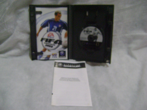 fifa soccer 2003 original caixa manual p/  game cube