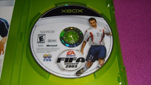 fifa soccer 2003 xbox clasico compatible con xbox 360