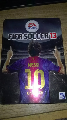 fifa soccer 2013 - ps3 - steelcase