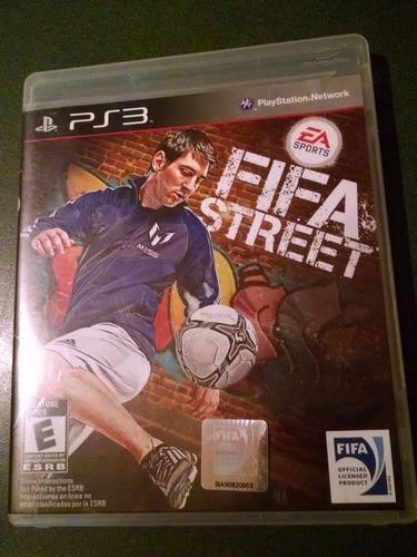 fifa street ps3 envio gratis