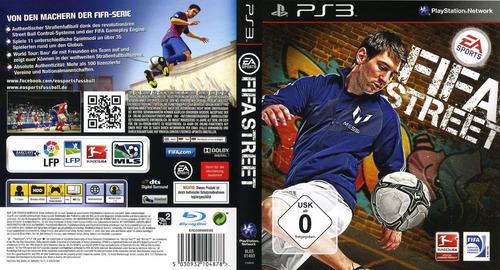 fifa street ps3 videojuego en caja sellado nuevo