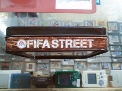 fifa street xbox 360 caja metalica