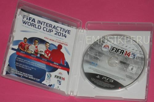 fifa14  ps3 - disco original - emk