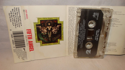 fifth angel ~ time will tell (carcasa:vg - inserto:vg)
