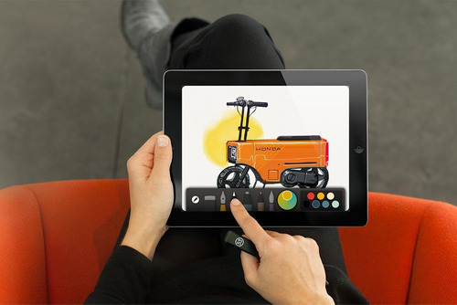 fiftythree digital stylus lápiz para ipad, ipad pro, y el ip