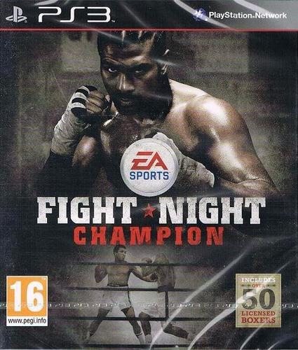 fight night champion full game ps3 psn - midia digital