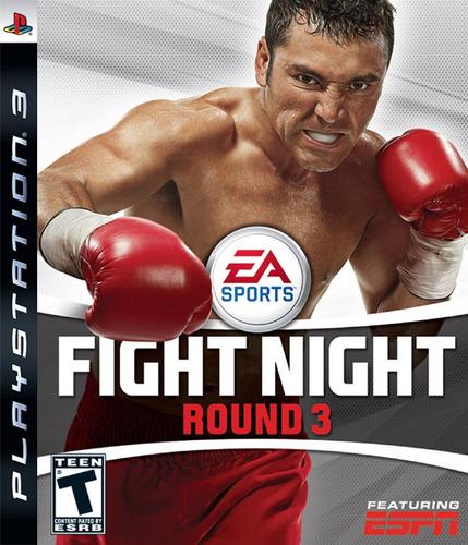 fight night round 3 ps3 acepto cambios gxa