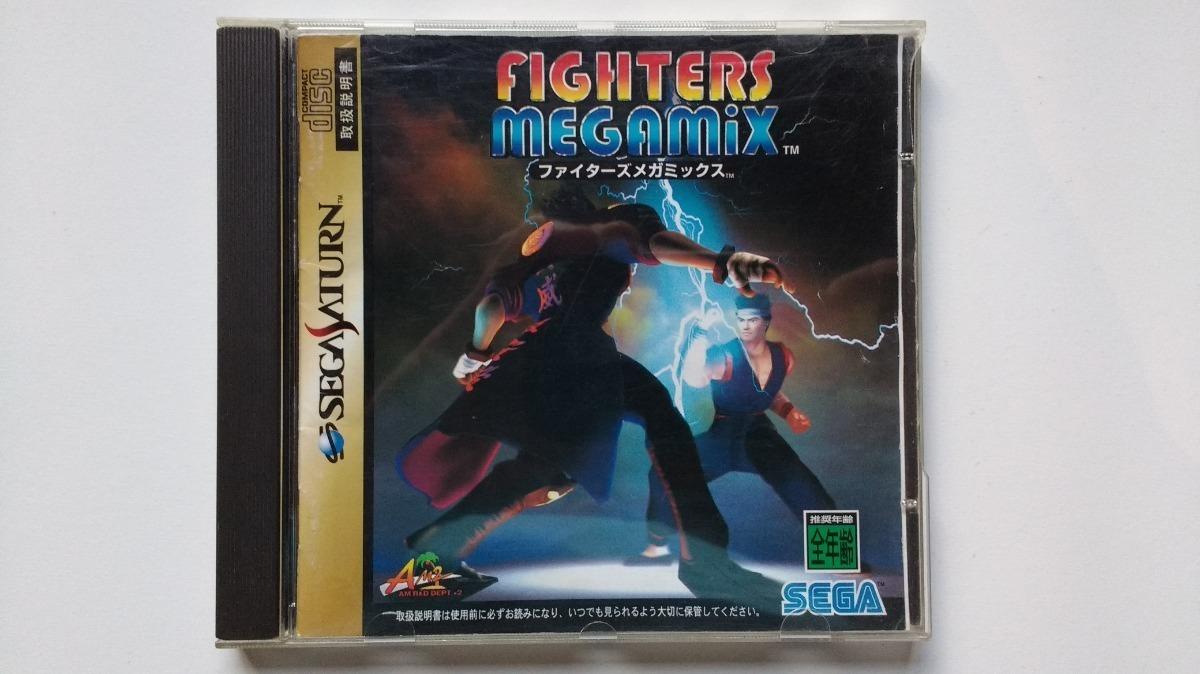 Fighters Megamix - Jogo Sega Saturn Japonês