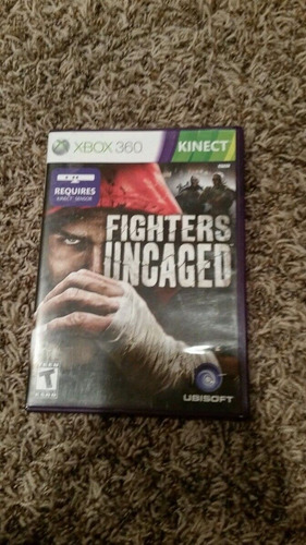 fighters uncaged xbox 360 barato