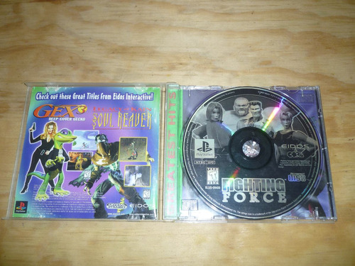 fighting force playstation 1 psx ps1