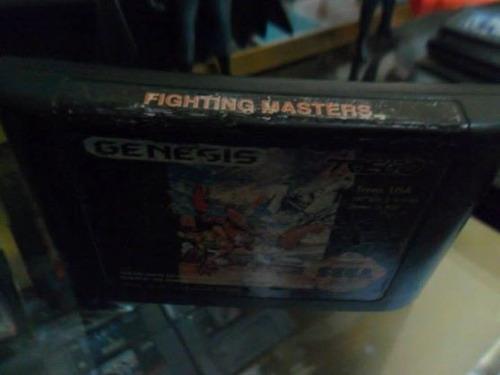 fighting masters sega genesis cartucho