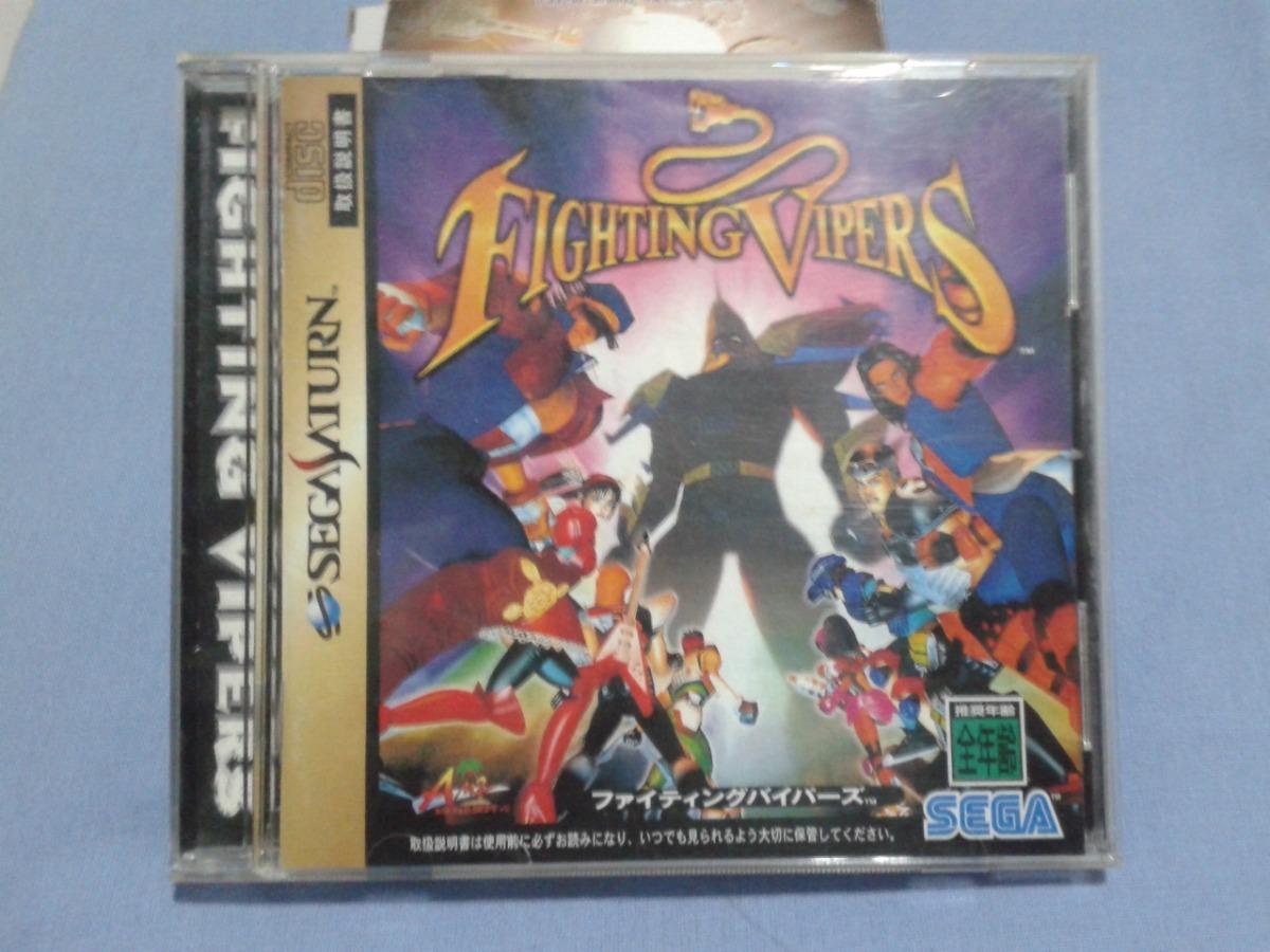 Fighting Vipers 2 Sega Saturn Original Japonês