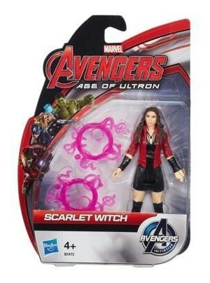 figura 10cm scarlet witch. avengers age of ultron. hasbro.