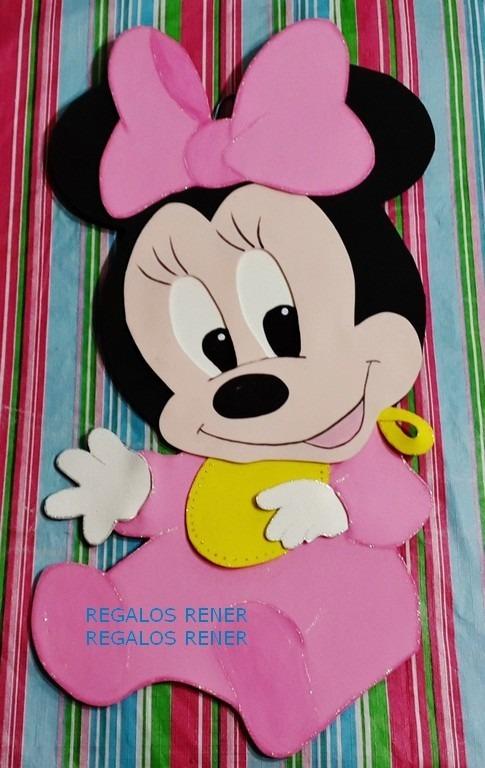Figura 80 Cm Minnie Bebe En Goma Eva 21000 En Mercado Libre - Bebe-de-goma-eva