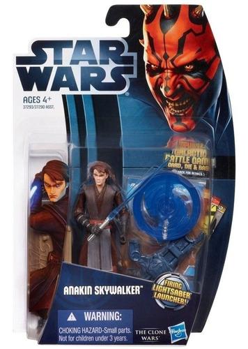 figura acción anakin skywalker / star wars - the clone wars