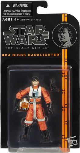 figura acción biggs darklighter / star wars - the black seri