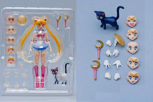 figura accion sailor moon