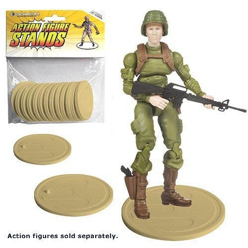 figura acción stands 25pack tan