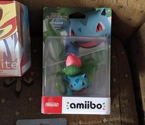 figura amiibo ivysaur - nintendo switch - pokemon