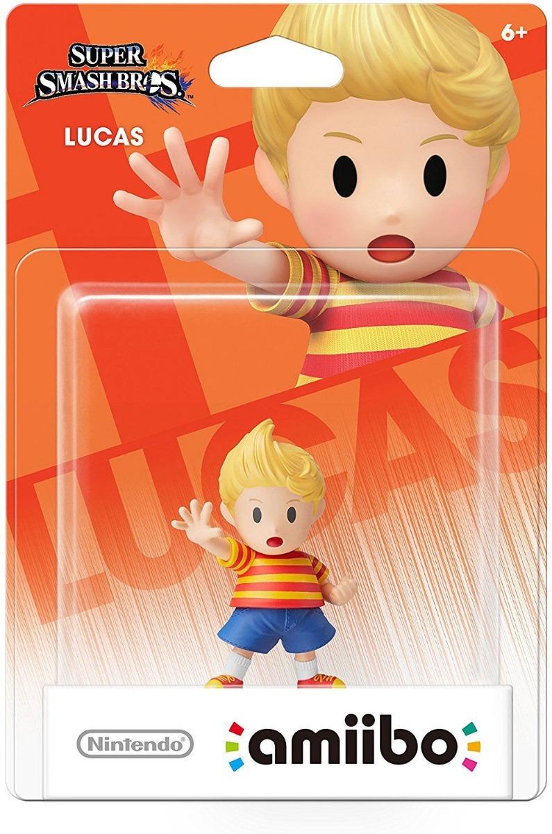 Figura Amiibo Lucas Smash Bros Nintendo Nq Np Juegos