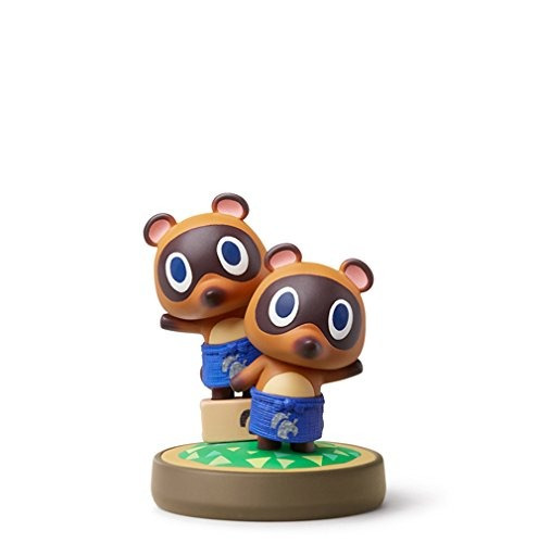 figura amiibo timmy & tommy animal crossing nintendo wii u