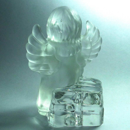 figura angel cristal goebel 1981 germany, 10 cm. buen estado
