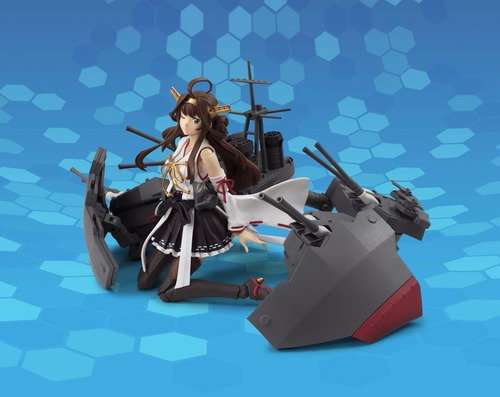figura anime kantai collection - kongou