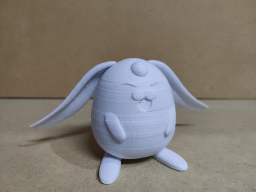 figura anime mokona impresa en 3d